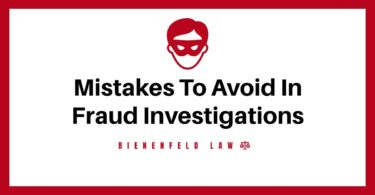 Common Mistakes To Avoid In Fraud Investigations